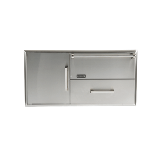 CoyoteCombination Storage: Warming Drawer & Access Doors