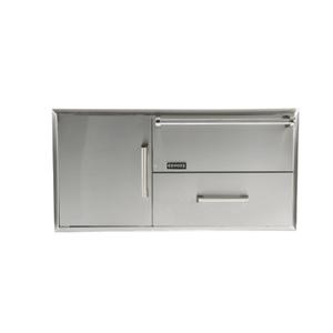 Combination Storage: Warming Drawer & Access Doors -