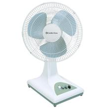 See Details - CZ161 16-inch Oscillating Table Fan, White