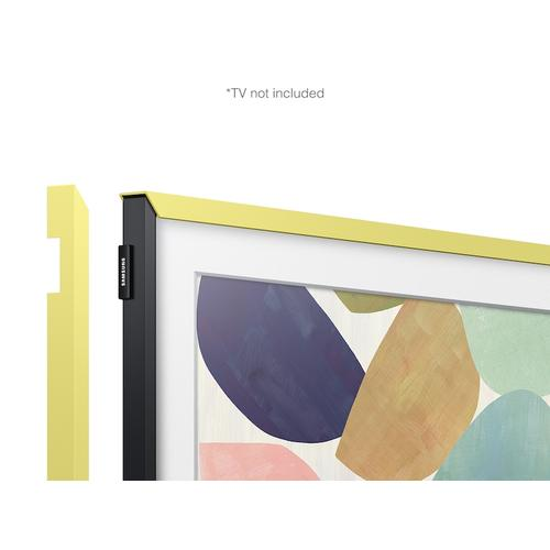 "(2020) 32"" The Frame Customizable Bezel - Vivid Lemon"