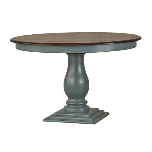 Whitehall Pedestal Dining Table 4'