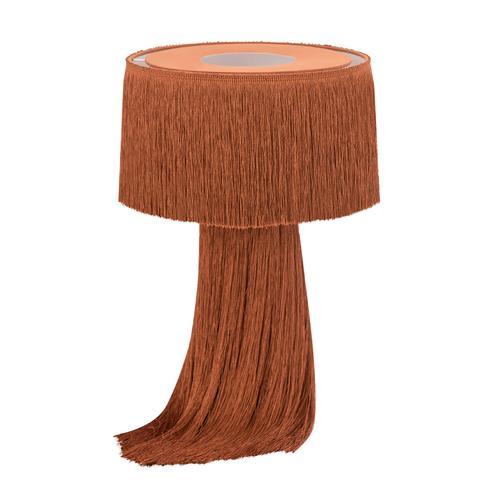 Tov Furniture - Atolla Brick Tassel Table Lamp