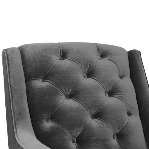 Elements - Bryan Accent Chair w/ Gold Legs