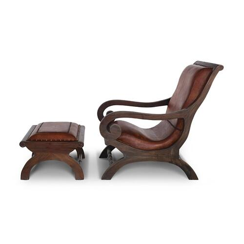 Lazy Chair w/ Footstool Set - CCA FBDL
