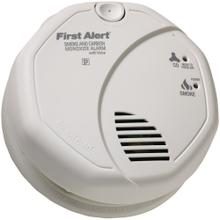 Battery-Operated Combination Smoke/Carbon Monoxide Alarm with Voice Location