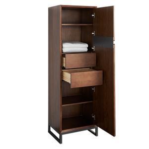 """Fairmont Designs - M4 20x16"""" Storage Cabinet with Leg - Natural Walnut"""