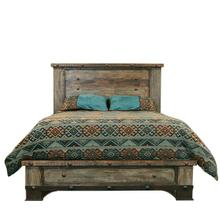 Urban Rustic King Bed