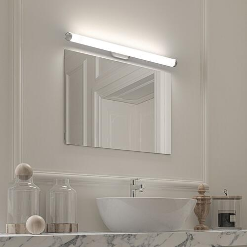 "Sonneman - A Way of Light - Plaza LED Bath Bar [Size=18"", Color/Finish=Satin Chrome]"