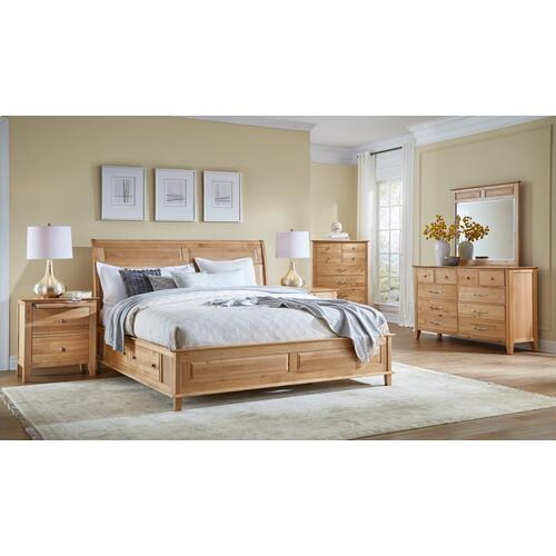 See Details - Queen Panel Storage Bed