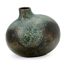 See Details - Small Organic Vase in Dark Bronze