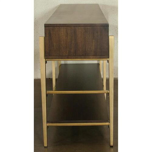Dekker - Console Table - Roasted Walnut Finish
