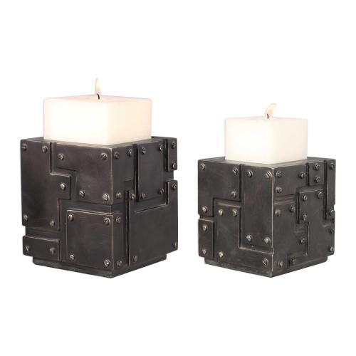 Malak Candleholders, S/2