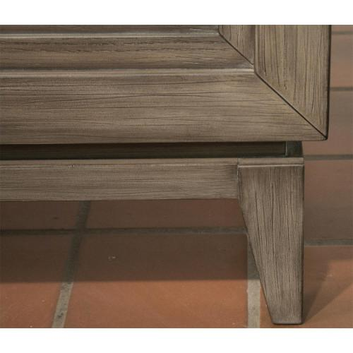 Vogue - King/california King Panel Footboard - Gray Wash Finish