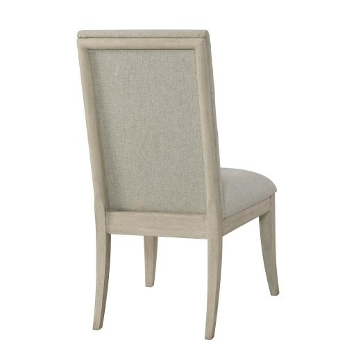 Lilly - Upholstered Side Chair - Champagne Finish