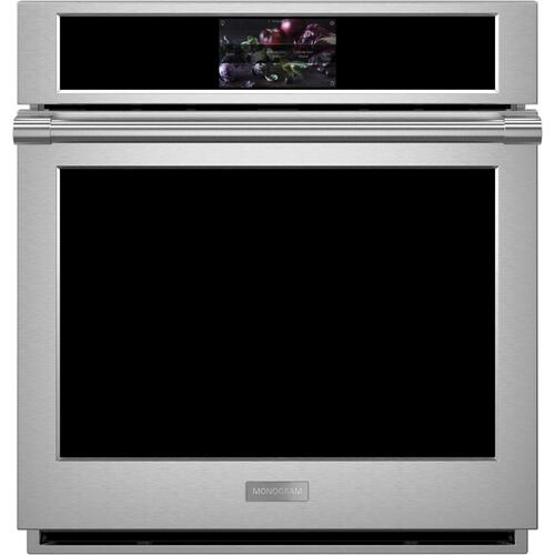 "Monogram 27"" Smart Electric Convection Single Wall Oven Statement Collection"