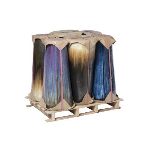 Alfresco Home - Panama Plntr Mix HalfPLT-S/1,3colors,2ea,6pc ttl