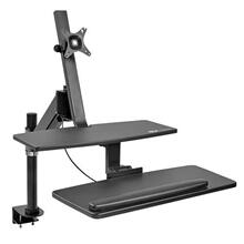 WorkWise Standing Desk-Clamp Workstation, Single-Monitor