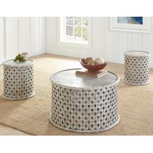 Samir 3-Piece Occasional Set (Cocktail Table & 2 End Tables)