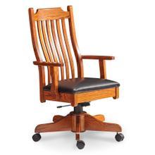 See Details - Urbandale Arm Desk Chair, Fabric Cushion Seat