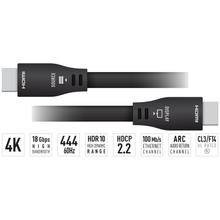 See Details - 4K/18G 40ft / 12.2m HDMI Cable, supports HDR10+, Dolby® Vision, HDCP2.3, Ethernet, eARC, VW1 UL Rated, 24 AWG