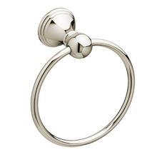 Ashbee Towel Ring - Platinum Nickel