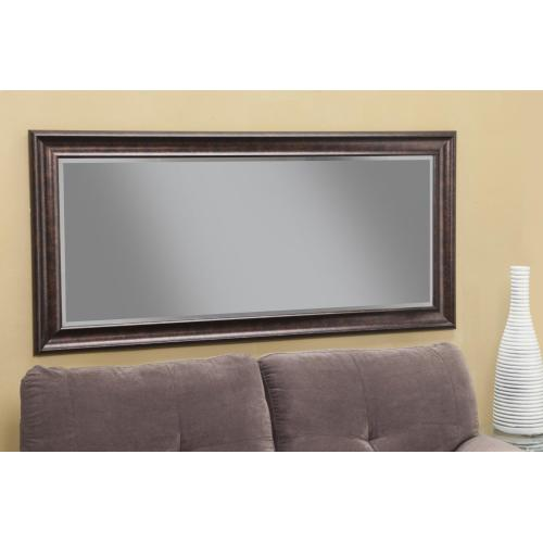 Oil Rubbed Bronze Full Length Leaner Mirror - Bronze