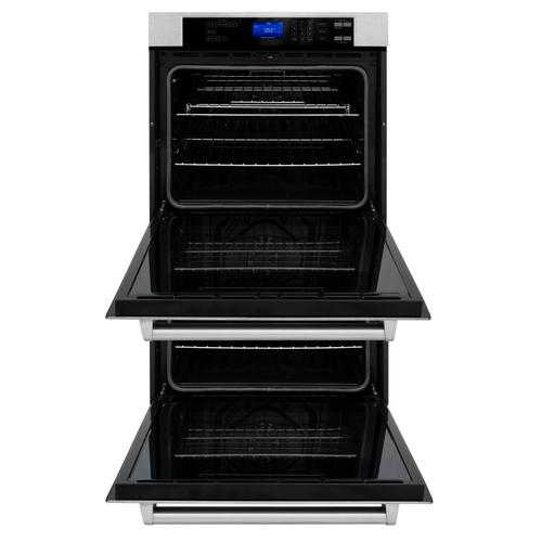 Zline Kitchen and Bath - ZLINE 30 in. Professional Double Wall Oven with Self Clean (AWD-30) [Color: Stainless Steel]
