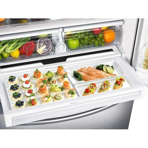 23 cu. ft. French Door Refrigerator in Stainless Steel