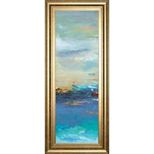 """Sea Mystery Panel I"" By Patricia Pinto Framed Print Wall Art"