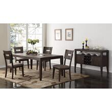 """Mont Clair Rectangular Dining Table with 18"""" Leaf"""