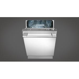 """Fulgor Milano24"""" Integrated Dishwasher - Stainless Steel"""