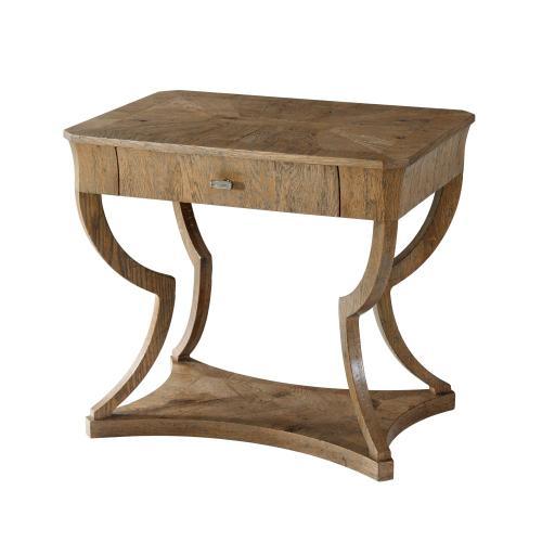 Ennis Side Table, Echo Oak
