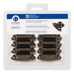 Project-Pack Surface Self-Closing Flush Hinge 20-Pk Product Image
