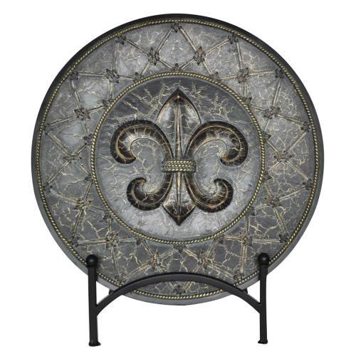 Crestview Collections - French Fleur Charger
