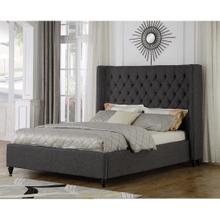 Marcella King Bed Grey