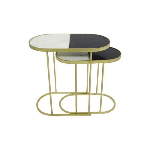 Porter International Designs - Jacqueline Nesting Accent Tables, 2627W