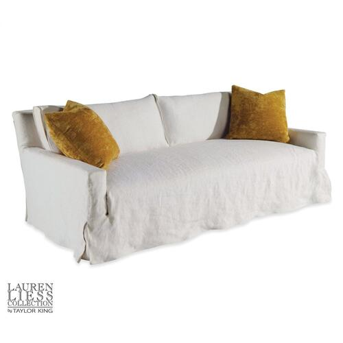 Courtier Slipcovered Mini Sofa