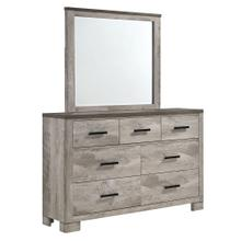 Millers Cove 6-Drawer Dresser with Mirror