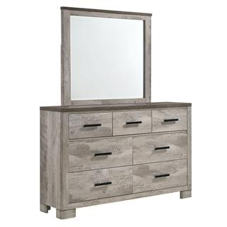 See Details - Millers Cove 6-Drawer Dresser with Mirror