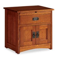 See Details - Prairie Mission Nightstand with Doors