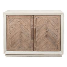 Hollis 2 Door Commode, Antique White