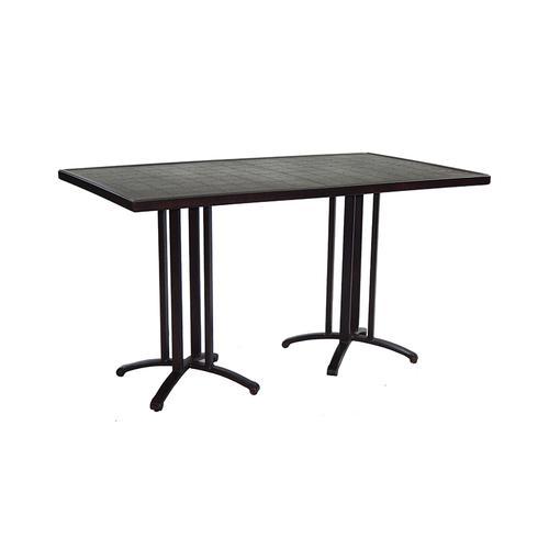 "Castelle - 64"" Vintage Metro Rectangular Counter Height Table"