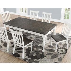 """Joanna 64-80 inch Dining Table w/ 16""""Leaf"""