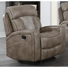 Top Flight Taupe Power Recliner