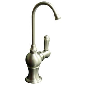 """Point of Use instant hot water faucet with a gooseneck spout and a self-closing handle. Fits counter tops up to 2 1/4"""" Product Image"""