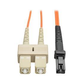 Duplex Multimode 62.5/125 Fiber Patch Cable (MTRJ/SC), 1M (3 ft.)