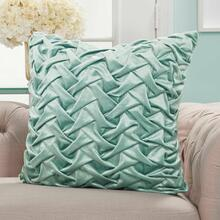 "Life Styles L0064 Celadon 22"" X 22"" Throw Pillow"