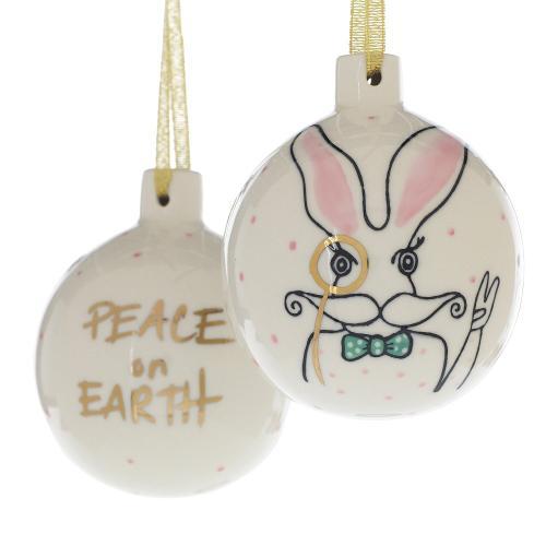 "4"" E+E Peace + Love Collection (Eric Ornament Option)"