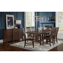 Henderson Trestle Table and 4 Side Chairs