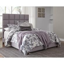 King Panel Bed With Mattress